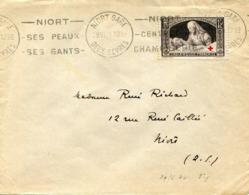 LETTRE : Yvert Croix Rouge N° 460 -  1940 - Cartas