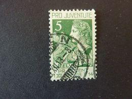 SUISSE, Année 1913, YT N° 137 Oblitéré - Switzerland