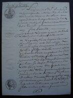 Tonneins 1815 Lot-et-Garonne Testament Public De Suzanne Larrieu épouse De Vital Loste, Cordier - Manuscrits
