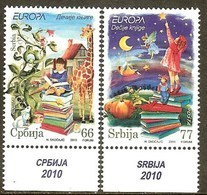 SERBIE N°348/349** (europa 2010) - COTE 5.60 € - 2010