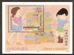 ALBANIE BF N°138** (europa 2010) - COTE 5.80 € - 2010