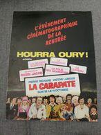 Dépliant Commercial Gérard Oury La Carapate Pierre Richard Victor Lannoux - Werbetrailer