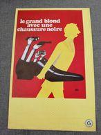 Dépliant Exploitation Cinéma Le Grand Blond Pierre Richard Hervé Morvan - Werbetrailer