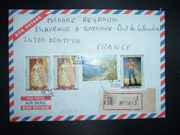 LR à FRANCE TP RANAVALONA II 7.500 Fmg X2+FORT DAUPHIN 5.000 Fm2+RADAMA I 500 Fmg OBL.13-1 2006 ANTSIRANANA DIEGO SUAREZ - Madagascar (1960-...)