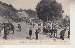 MORLAIX - Le Pouliet Un Jour De Foire ( Boeufs Chevaux )   PRIX FIXE - Morlaix