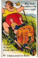 Puy De Dôme Carte à Système Dans Le Sac Vous Verrez CHATEAUNEUF LES BAINS - Autres Communes