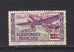 AEF POSTE AERIENNE 21 FRANCE LIBRE   OBLITERES - A.E.F. (1936-1958)