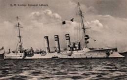 CPA - S.M.KLEINER KREUZER - LÜBECK - EditionGbr.Lempe (Marine Allemande) - Guerra