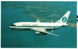 CPM - Cie BRITANNIA AIRWAYS - BOEING JET 737   … - Edition W.W.Curtis - 1946-....: Ere Moderne