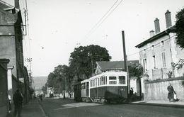 Nancy. Tramway à Neuves-Maisons. Cliché John-Horace Price. 01-10-1948 - Tramways