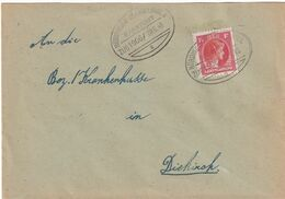 DDX 316 A  - LUXEMBOURG Ambulant - Lettre NORDINGEN-MARTELINGEN Bahnpost ZUG 1906 - Ex HOLTZ - Brieven En Documenten
