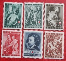 Red Cross Rotes Kreuz Rode Kruis Complete Set 1944 OBP 647-652 (Mi 658-663) POSTFRIS/ MNH ** BELGIE BELGIUM - Belgium
