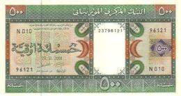 MAURITANIA P.  8b 500 O 2001 UNC - Mauritania