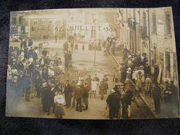 C.P.A.- Carte Photo.- Mazé (49) - Fête Du 14 Juillet - 1909 - SUP - (DK 80) - Francia