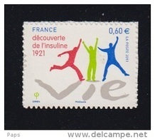 2011-N°635** L'INSULINE - Adhésifs (autocollants)