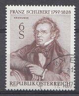 Autriche 1978  Mi.Nr: 1590 Todestag Von Franz Schubert   Oblitèré / Used / Gebruikt - 1945-.... 2ème République