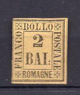 1859. ITALY, ROMAGNA, 2 BAI STAMP, MH - Romagna