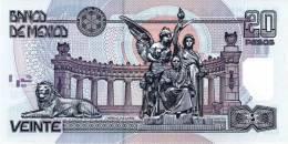 MEXICO P. 116d 20 P 2003 UNC - Mexique