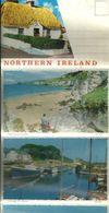 NORTHERN IRELAND LETTER CARD - PORTSTEWART - NEWCASTLE - BALLYCASTLE - CARNLOUGH - PORTRUSH GUESS 1970's - Irlande Du Nord