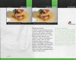 PORTUGAL MADEIRA  2005 Europa Gastronomia, 1 SS MNH - Blocks & Kleinbögen