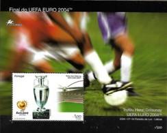 PORTUGAL 2004 Final Do UEFA Euro 2004 , 1 SS MNH - Europei Di Calcio (UEFA)
