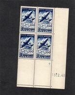 FEZZAN - YT PA N° 5 Bloc De 4 Coin Daté - Neufs ** - Fezzan (1943-1951)