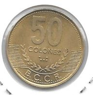 *costa Rica 50 Colones  1997 Km 231  Xf+/ms60 - Costa Rica