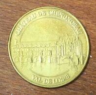 37 CHÂTEAU DE CHENONCEAU MEDAILLE TOURISTIQUE MONNAIE DE PARIS 2010 JETON MEDALS COINS TOKENS - Monnaie De Paris