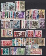 1961. * Edifil: 1326/1405. AÑO COMPLETO - 1931-Hoy: 2ª República - ... Juan Carlos I