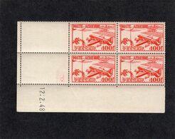 FEZZAN - YT PA N° 4 Bloc De 4 Coin Daté - Neufs ** - - Fezzan (1943-1951)