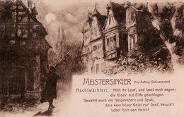 Richard Wagner's Heldengestalten. No. 12 Die Meistersinger Von Nürnberg. 1909. (Ferdinand Leeke). - Opera