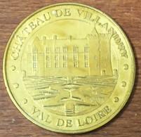 37 CHÂTEAU DE VILLANDRY MEDAILLE TOURISTIQUE MONNAIE DE PARIS 2010 JETON MEDALS COINS TOKENS - Monnaie De Paris
