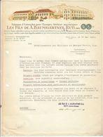 Baumgartner , Ustensiles Pour Tissages à Ruti , Zurich , Facture Illustrée De 1945 - Schweiz