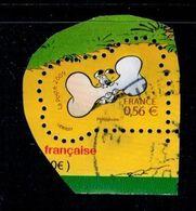 2009 N 4429 IDEFIX AVEC OS OBLITERE CACHET ROND #230# - Frankreich