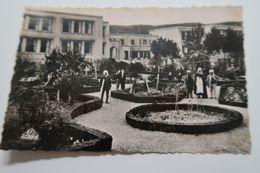 CPSM - SOUK AHRAS - Groupe Scolaire Et Jardin Public - 1953 - Souk Ahras