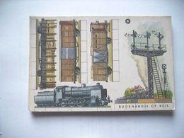 Nederland Holland Pays Bas Bij De Handje Op Reis Knipkaart KK4 Locomotief 2 - Ansichtskarten