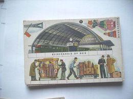 Nederland Holland Pays Bas Bij De Handje Op Reis Knipkaart KK4 Station 2 - Ansichtskarten