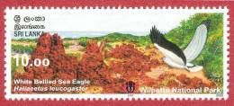 Sri Lanka Stamps 2006, White Bellied Sea Eagle, Birds, Wilpattu National Park, MNH - Sri Lanka (Ceylon) (1948-...)