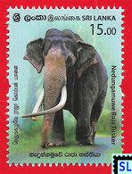 Sri Lanka Stamps 2019, Nedungamuwe Raja Tusker, Elephants, Elephant, Buddha, Buddhism, MNH - Sri Lanka (Ceylon) (1948-...)