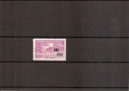 """Algérie ( CP 181 X -MH- Sans La Surcharge """"CONTROLE Des RECETTES"""") - Algeria (1924-1962)"""
