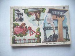 Nederland Holland Pays Bas Bij De Handje Op Reis Knipkaart KK4 Molen - Ansichtskarten