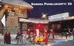 FINLAND - Santa Claus Main Post Office, Sonera Telecard, Tirage 7000, 11/98, Used - Finland