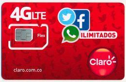 COLOMBIA CLARO GSM (SIM) CARD ILIMITADOS MINT UNUSED - Colombia