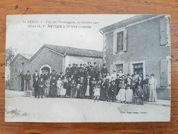 CPA - SOYONS - FETE DES VENDANGEURS OCTOBRE 1907 - Autres Communes