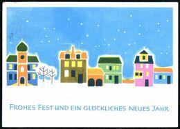 D8325 - Glückwunschkarte Weihnachten - Planet Verlag DDR - Other
