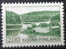 FINLANDE / YT 548 / LAC - FORET - MAISON - PAYSAGE / NEUF ** / MNH / COTE : 15.00 € - Unused Stamps