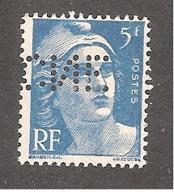 Perforé/perfin/lochung France No 719B CNE Comptoir National D'Escompte (310) - Perfins