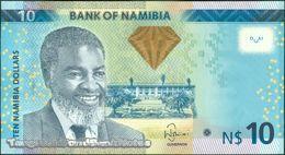 TWN - NAMIBIA 11a - 10 Dollars 2012 Prefix A - Signature: Shiimi UNC - Namibia