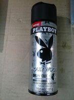 PLAYBOY HOLLYWOOD BOMBOLETTA DEOSPRY UOMO VUOTA DA COLLEZIONE - Flacons (vides)