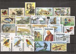 Tanzanie ( Lot De Timbres Divers Différents Oblitérés ) - Tanzanie (1964-...)